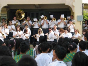 Konzert in Davao Central College, Toril 041